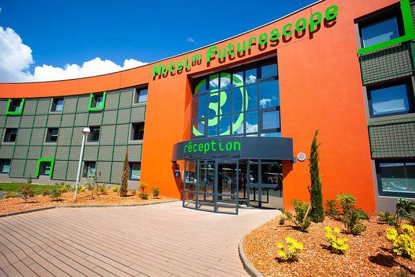 Week end s jour au futuroscope hotel billets pas cher for Nuit hotel pas chere